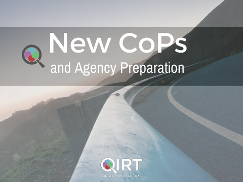 New CoPs and Agency Preparation