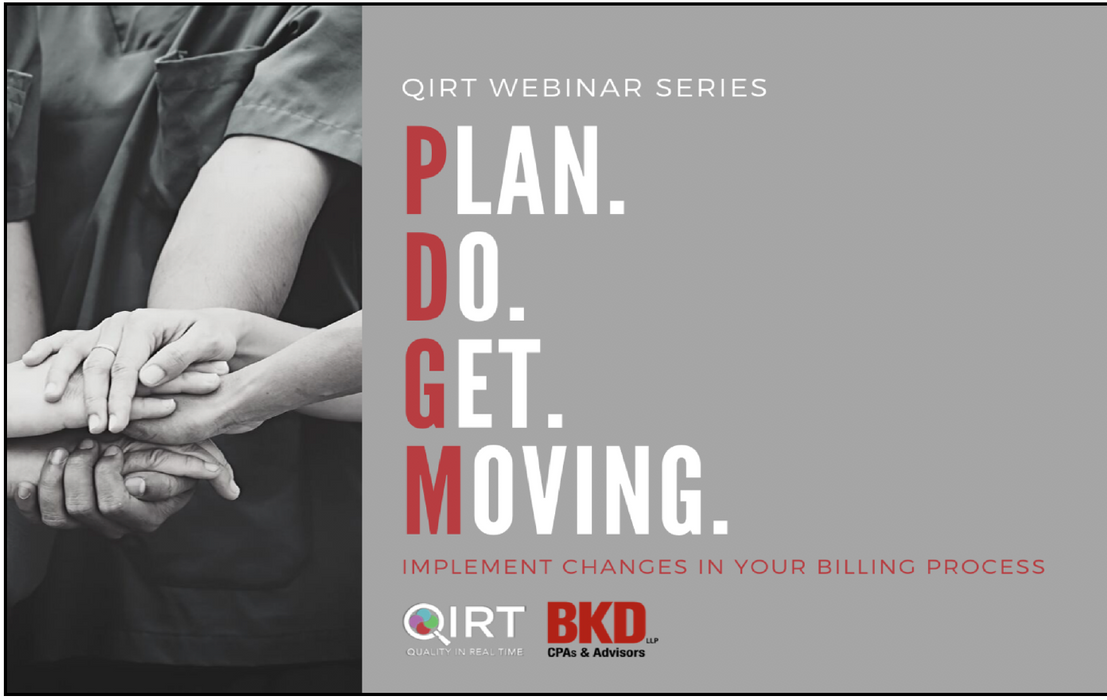 PDGM - Plan. Do. Get. Moving. Implement Changes in Your Billing Program.