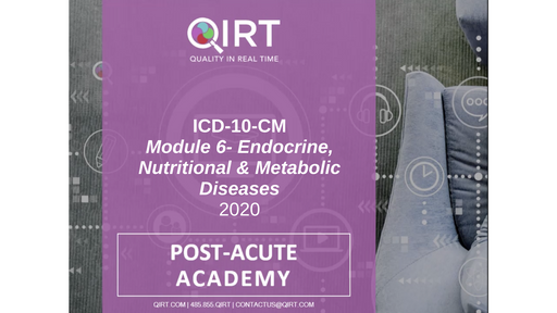 2020 ICD-10 Endocrine Disease Chapter 4