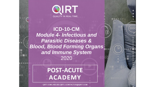 2020 ICD-10 Infection and Blood Disease