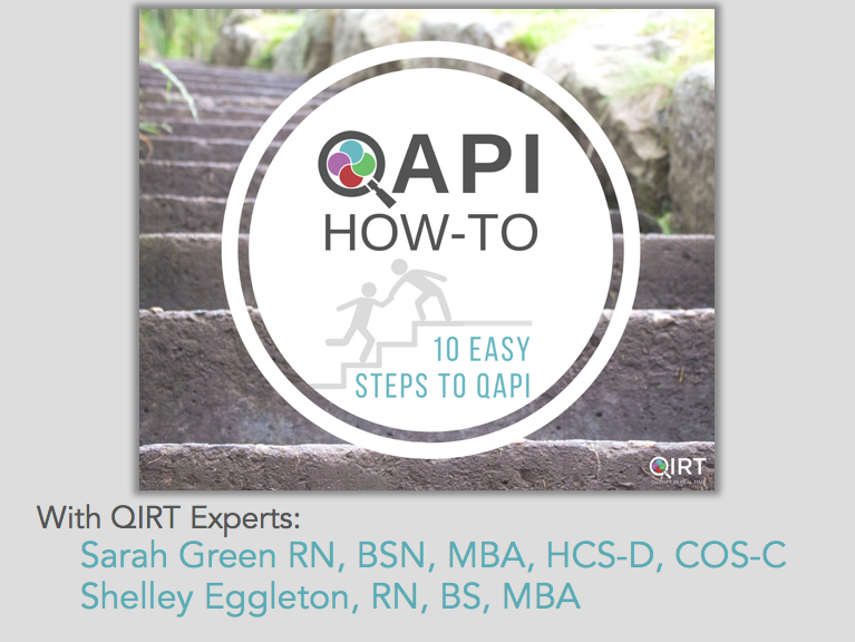 How To 10 Easy Steps to QAPI