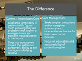 Example Slide from Care Management Webinar