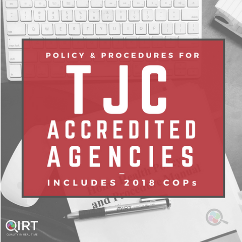 Policy and Procedure Manual - TJC Edition