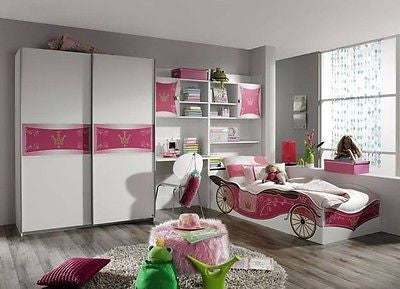 Princess bed, Bedroom Furniture for youth and Children, Modern Made in Europe - My European Lifestyle