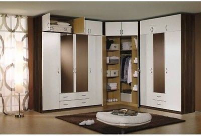 modern european bedroom closet wardrobe clothes armoire - My European Lifestyle
