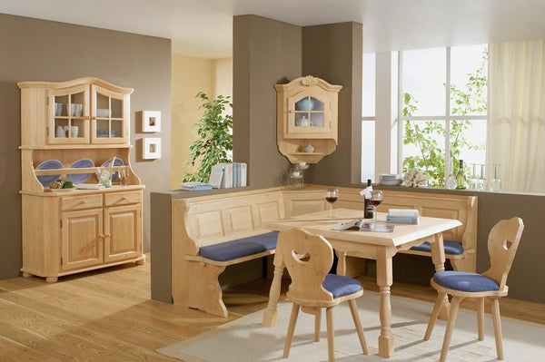 Landau Solid Wood Breakfast Nook - My European Lifestyle