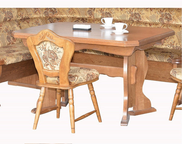Bruck Breakfast Nook, A solid rustic Dining set - My European Lifestyle