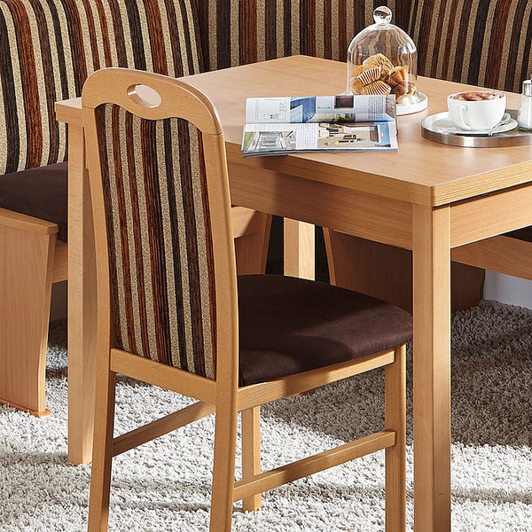 Hamburg Beech Brown Breakfast Nook - My European Lifestyle