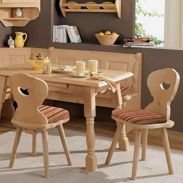 Amberg Farmhouse Furniture Solid Wood Dining Chair - My European Lifestyle