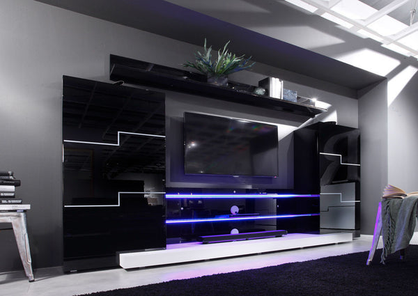Jupiter Modern Wall Unit - My European Lifestyle