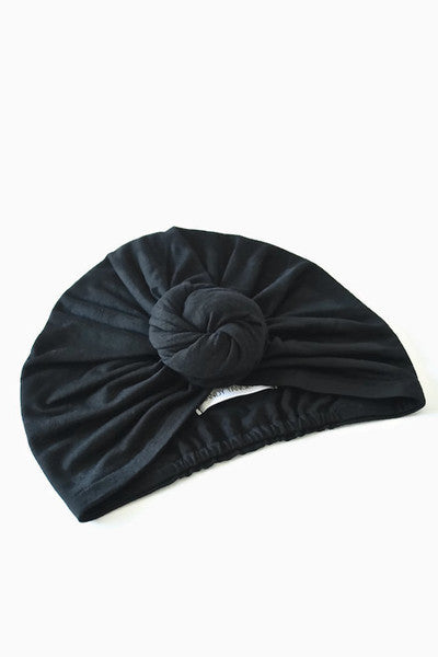 JET TOP KNOT TURBAN