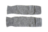 HAND-KNIT GREY LEG/ARM WARMER