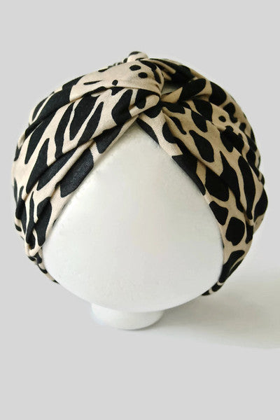 MINI SAFARI WIDE TURBAN