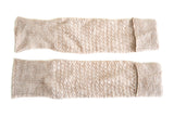 HAND-KNIT OATMEAL LEG/ARM WARMER