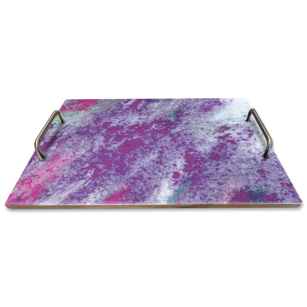 PURPLE PASTEL SERVING TRAY