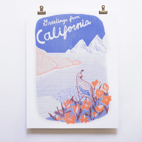 CALIFORNIA WALL ART