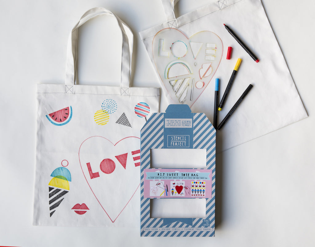 SWEET TOTE STENCIL KIT