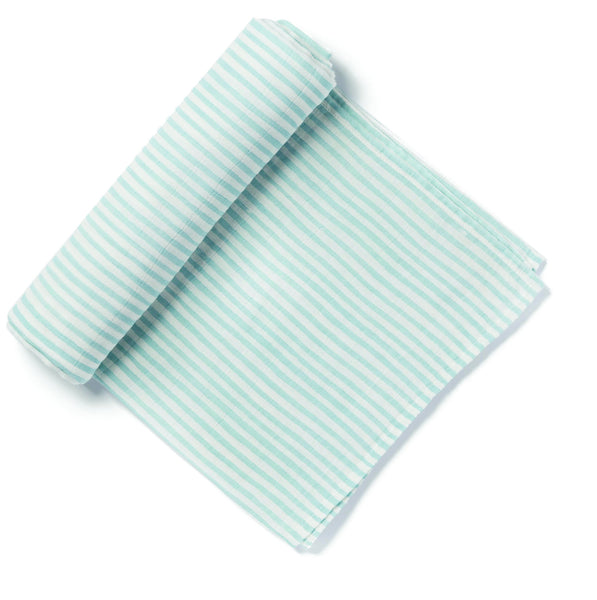 BLUE STRIPE SWADDLE