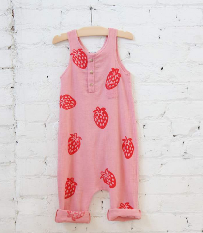 Woodlands Jumpsuit-Strawberry Fields