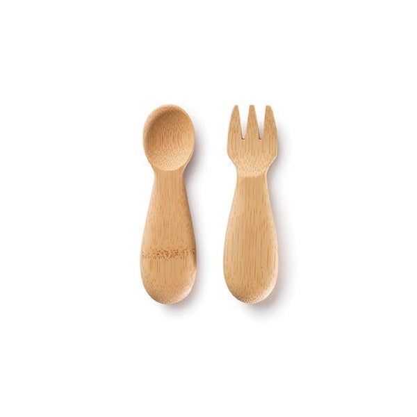 ORGANIC BABY FORK & SPOON (12M+)