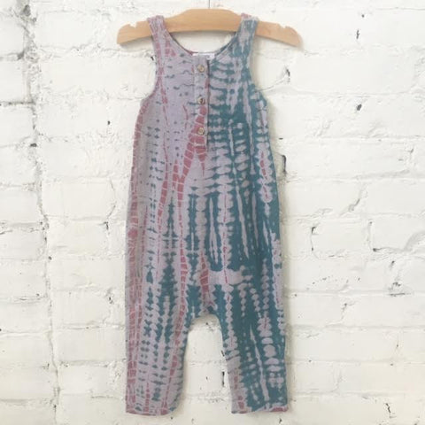 Woodlands Jumpsuit-Moss haze