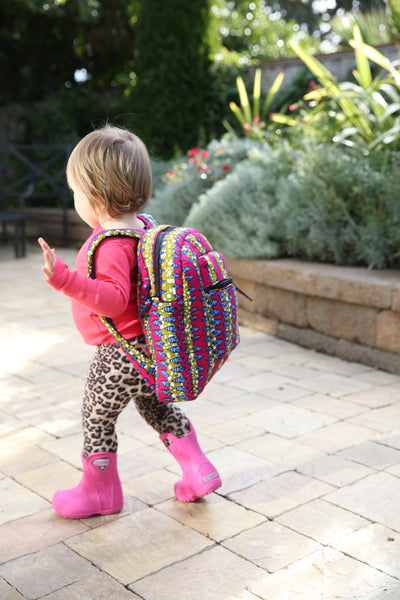 KOBINA MINI PACK IN PINK GREEN MULTI PRINT