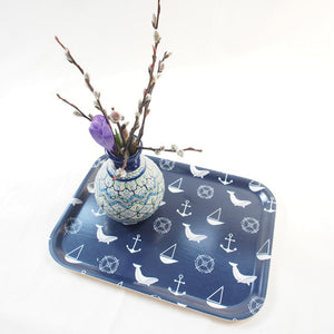 Deep Blue 8x10 Birch Tray