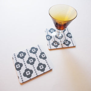 Bloom coasters [set of 4]