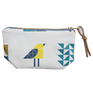 Printed canvas coin bag [Fox + Finch]