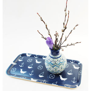 Deep Blue 6x13 Birch Tray