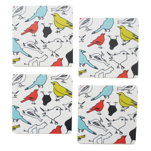 The Birds Coasters [set of 4]