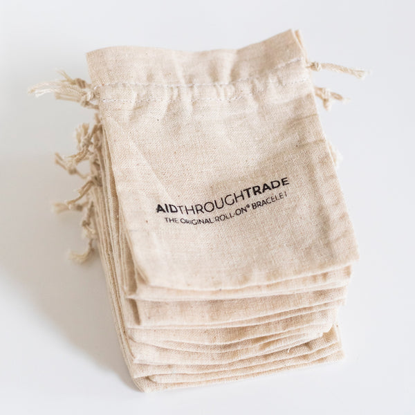 Handwoven Cotton Gift Pouch