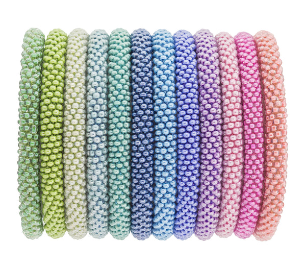 Roll-On® Bracelets <br> Rainbow Row