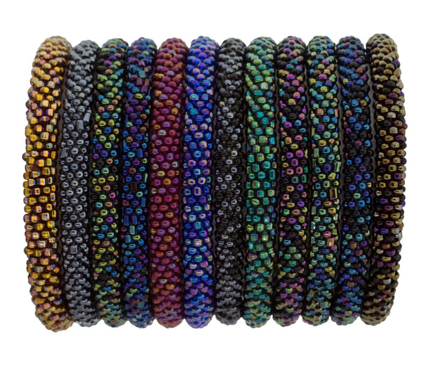 Roll-On® Bracelets Set of 12 <br> Starry Night