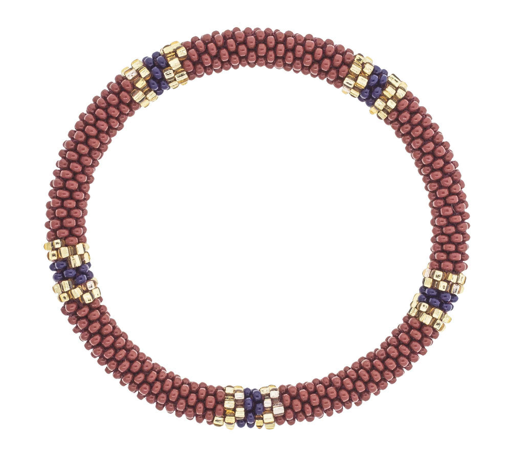 8&quot Roll-On® Bracelet <br> Bordeaux