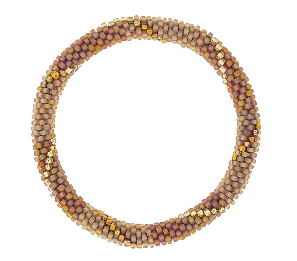 8&quot Roll-On® Bracelet <br> Caramel Macchiato