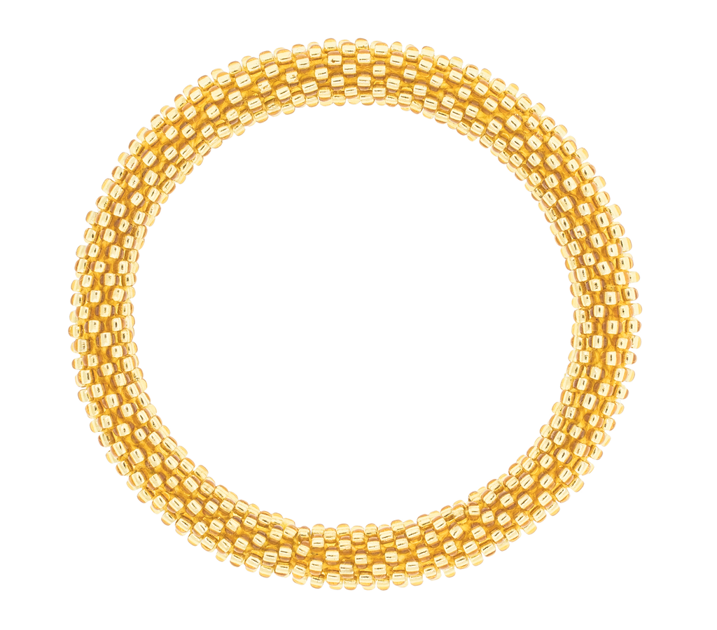 Roll-On® Bracelet <br> Gold Baby, Solid Gold