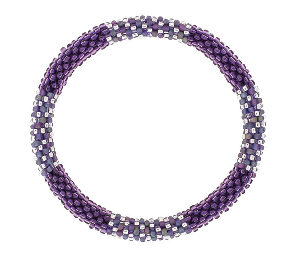 8&quot Roll-On® Bracelet <br> Destined For Grape-ness