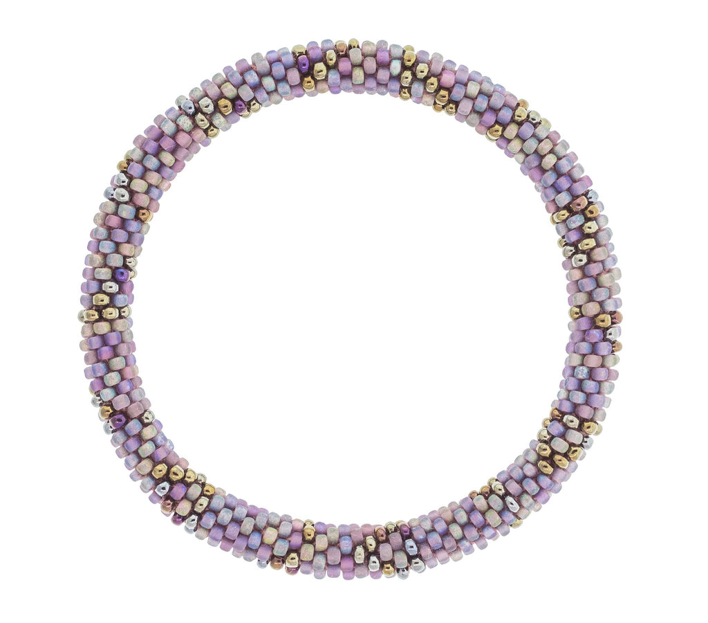 Roll-On® Bracelet <br> Purple Geode