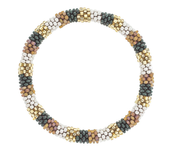 8&quot Roll-On® Bracelet <br> Pinecone
