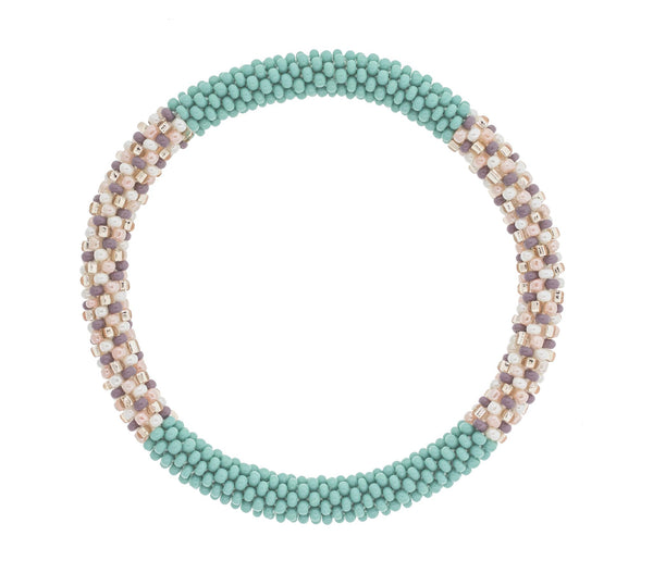 "8"" Roll-On® Bracelet <br> Turquoise and Caicos"