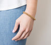 8&quot Roll-On® Bracelet <br> Golden