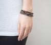 Roll-On® Bracelets <br> Black Sun