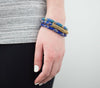 <br>Statement Roll-On® Bracelets <br> Blue Jay