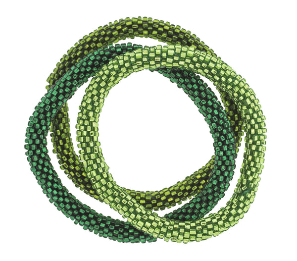 Roll-On® Bracelets <br> Emerald