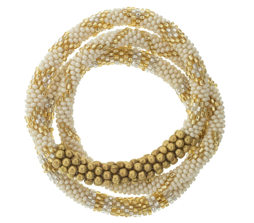 <br>Statement Roll-On® Bracelets <br> Glam Gold