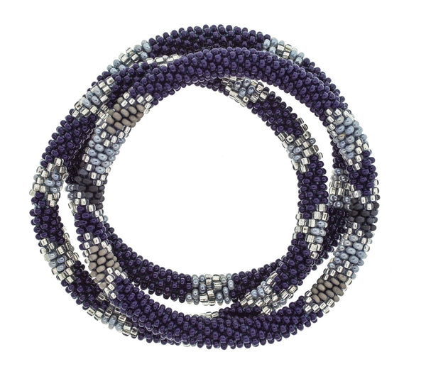 8&quot Roll-On® Bracelets <br> Indigo