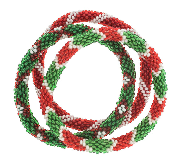 Roll-On® Bracelets <br> Mistletoe