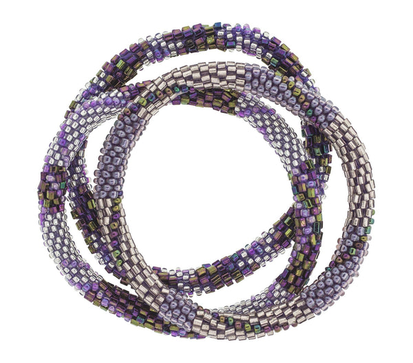 Roll-On® Bracelets <br> Orchid