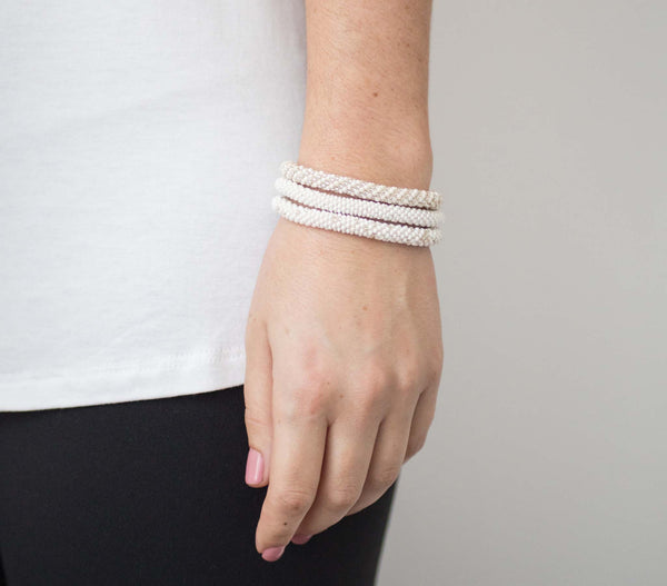 Roll-On® Bracelets <br> Pearl